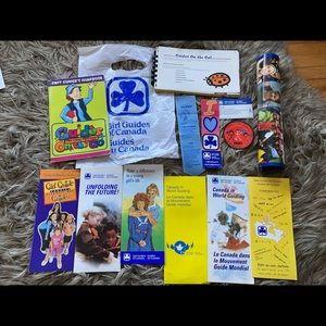 Girl Guide items